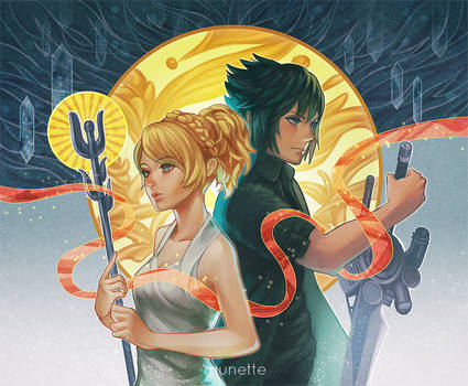 Noctis and Luna