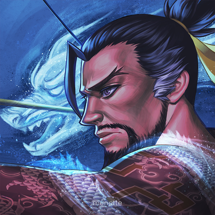 Hanzo Wallpaper: Hanzo By Munette On DeviantArt