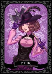 Persona 5 - Noir/Haru by munette