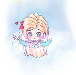 Chibi Angel by Yon-Miyu