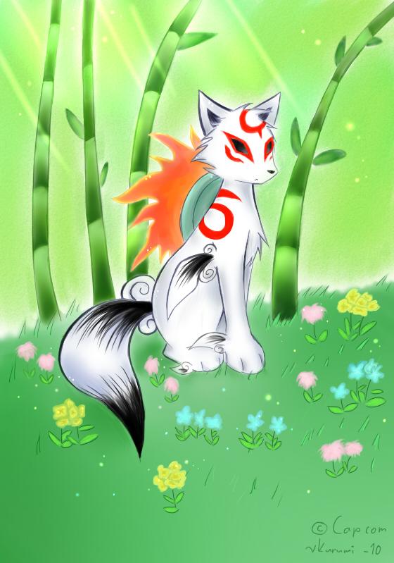 31 Flowers - Okami by RuiNami