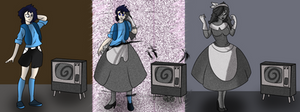 The Monochrome Housewife TG/TF Sequence