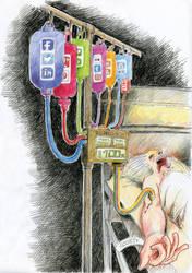 Social networks feeding society by Laurentlux