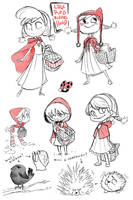 Little Red Riding Hood by omarito