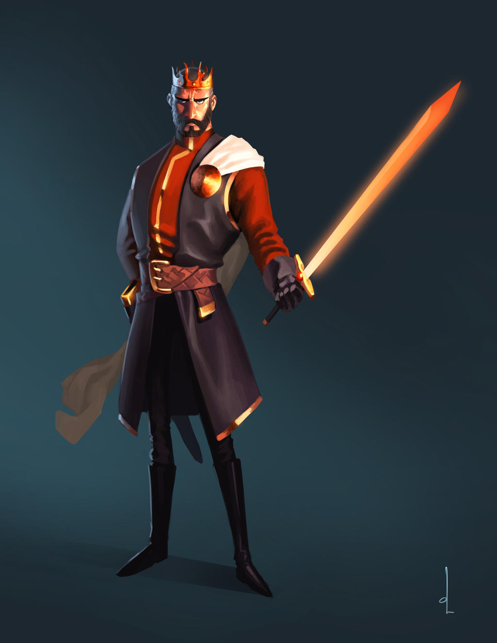 GOT Artjam - Stannis Baratheon by omarito