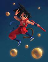 Goku by omarito