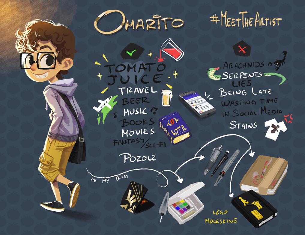 Meet the Artist by omarito