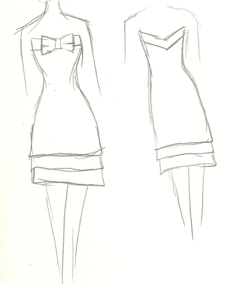 Simple Dress With Bow 2 By Yukiko Design On Deviantart