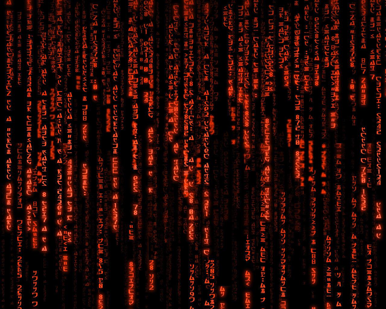 red matrix wallpaper moving - photo #6