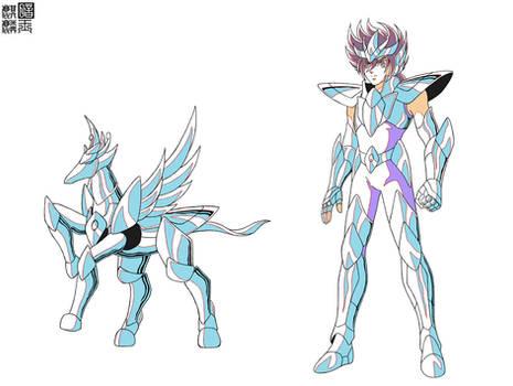 Kouga's Pegasus Cloth