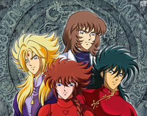 Four Spirit Generals