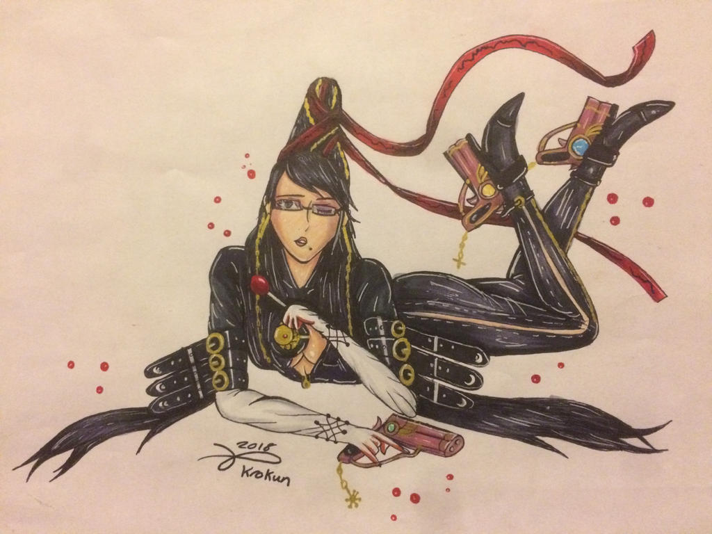 Bayonetta by Kro-987