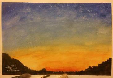 Sunset by Kro-987