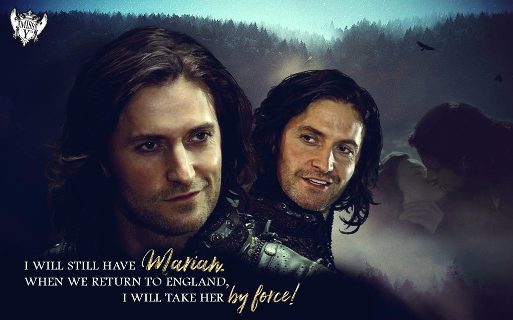 Guy of Gisborne Wallpaper Version 2 by Mrs-Severus-Snape