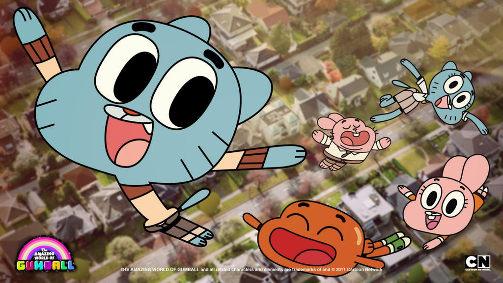 the amazing world of gumball by Ines09adventure