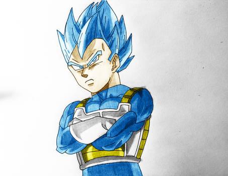 SSJ Blue Vegeta