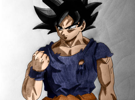 Ultra Instinct Goku - Color