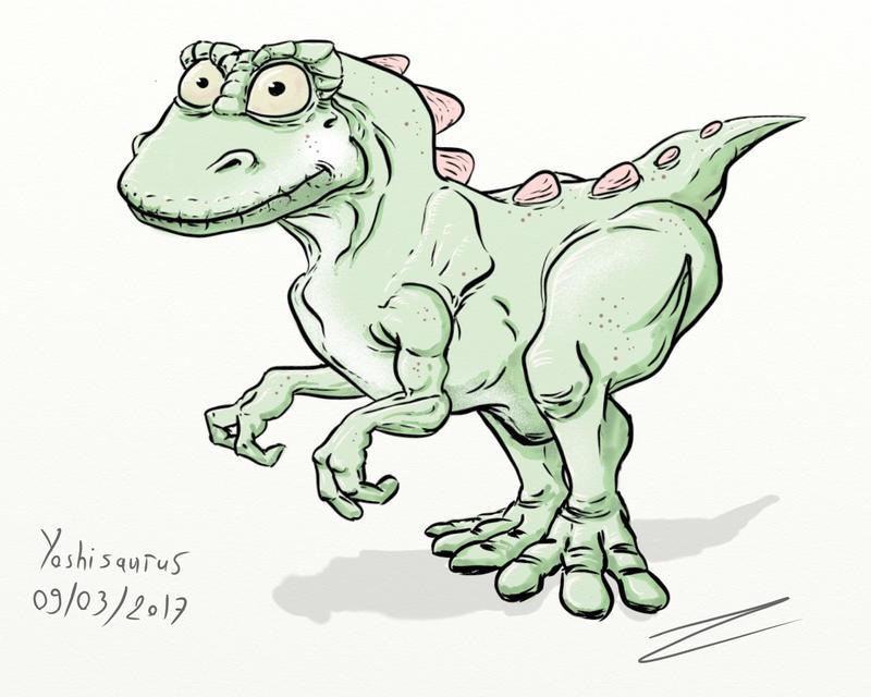 Yoshisaurus by ZeNoon