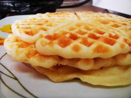 Waffle for breakfast 1