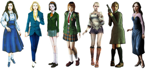 All Clock Tower Series Main Characters