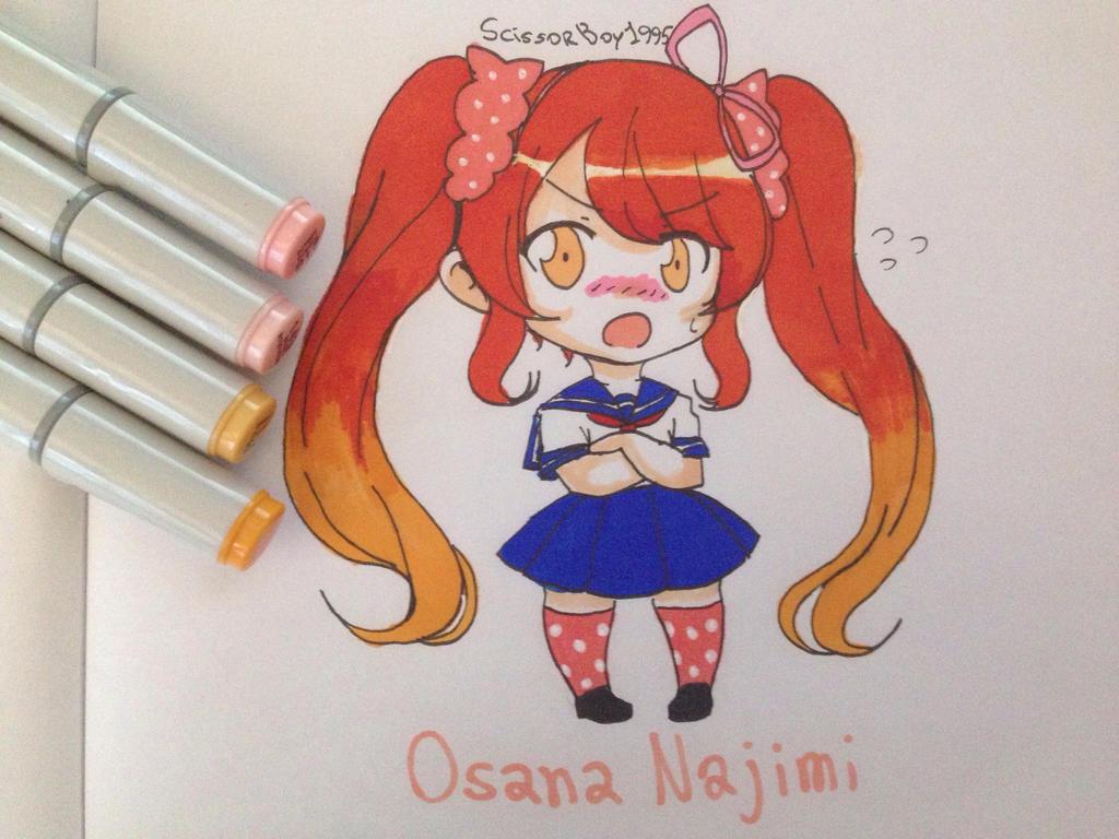 Chibi Osana Najimi By ScissorBoy1995 On DeviantArt