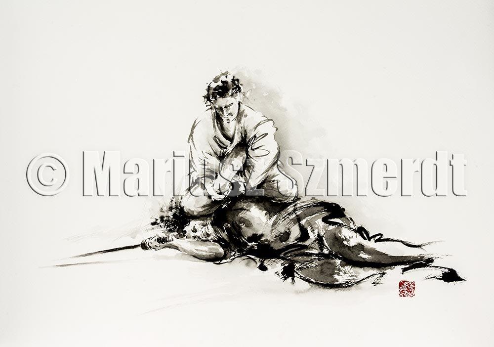 Samurai wild attack by MariuszSzmerdt