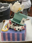 Alice in Wonderland dummy cake