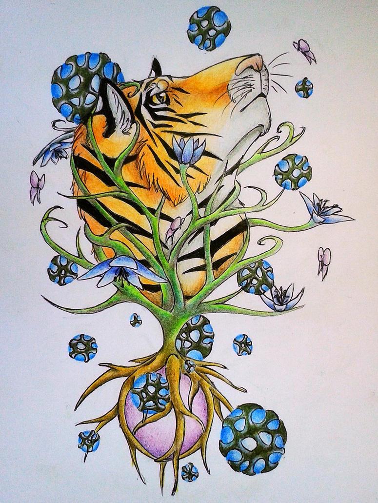 Tiger-Nature by LonlyAntelope