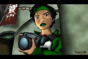 Beyond Good and Evil: Jade by custom3dgraphics