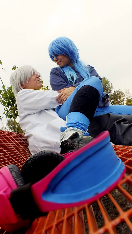 I'm glad to be with you~ (Dramatical Murder) by fannileesarkozi