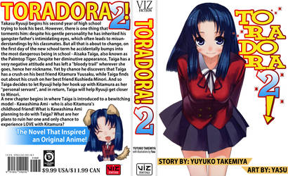 TORADORA Cover 2 English by staee