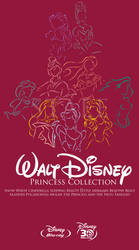 Walt Disney Princess Blu-Ray collection(Side View) by staee