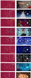 Walt Disney Princess Blu-Ray collection (digipaks) by staee