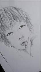 kim taehyung (BTS V) by Nicole1102