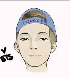 bts V by Nicole1102