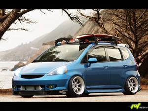 Honda Fit::Hellaflush