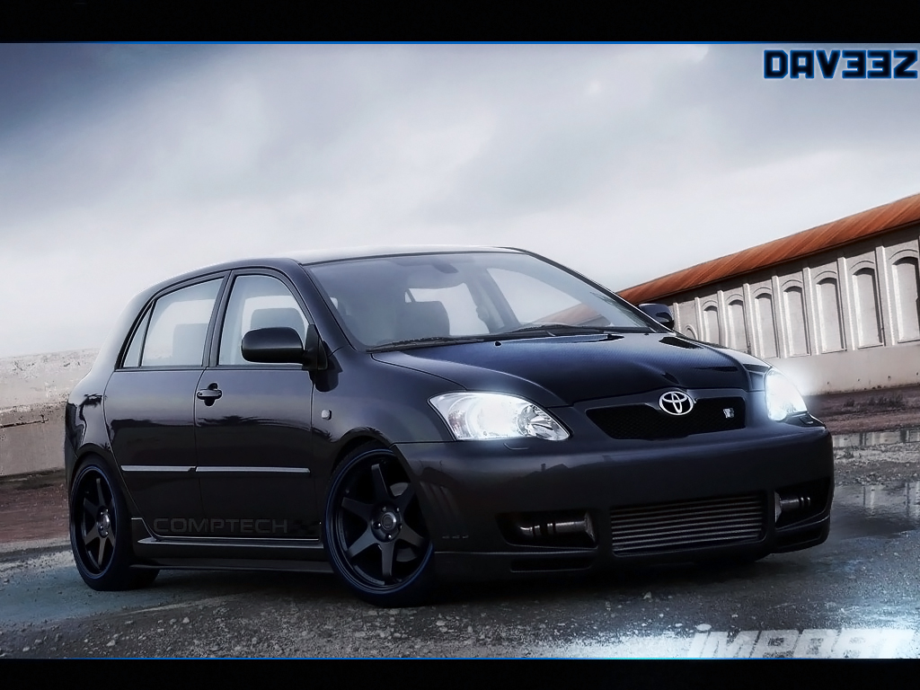 toyota corolla ts by daveezdesign on deviantart. Black Bedroom Furniture Sets. Home Design Ideas