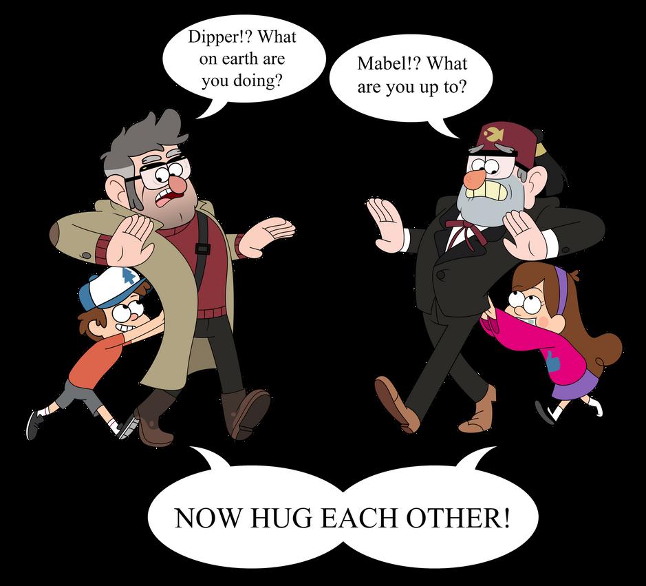 Hug it out already by wild-cobragirl