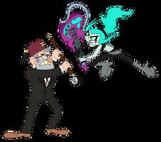 Stan vs. Ember by wild-cobragirl