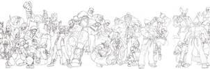 Street Fighter X Tekken by tsutar