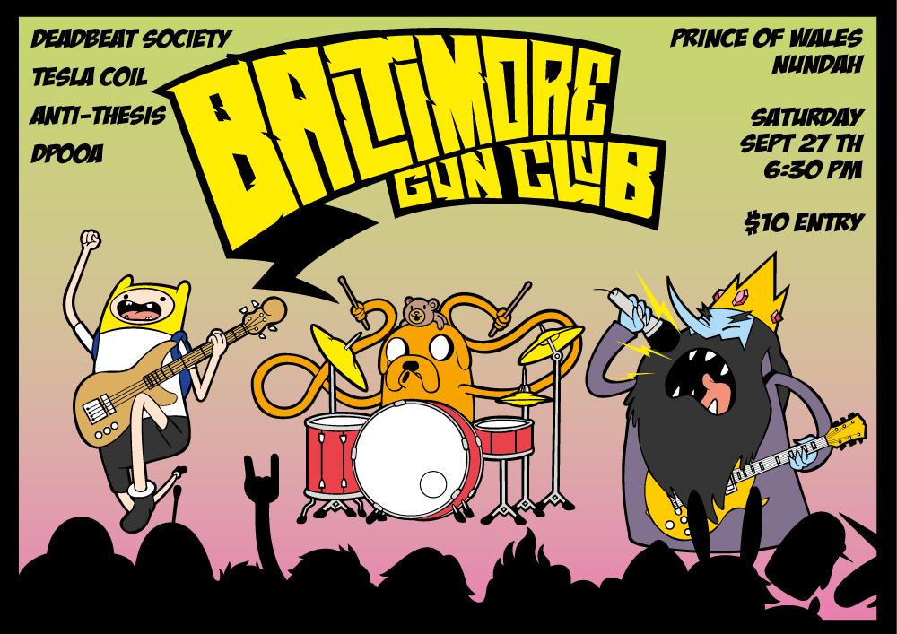 Baltimore Gun Time! by tsutar
