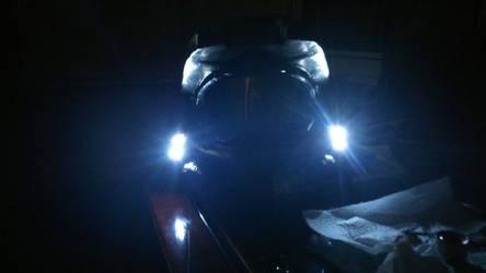 Halo 4 spartan helmet build part 4