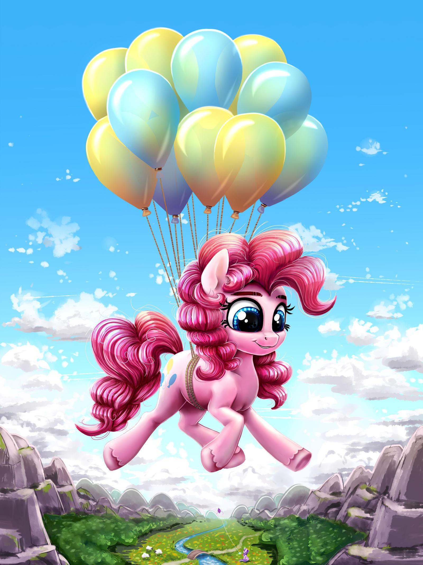 Das kleine rosa Pferd