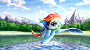 Das kleine blaue Pferd