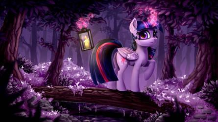 Das kleine lila Pferd