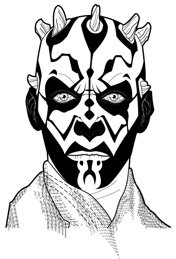 Darth Maul by mikepacker on DeviantArt