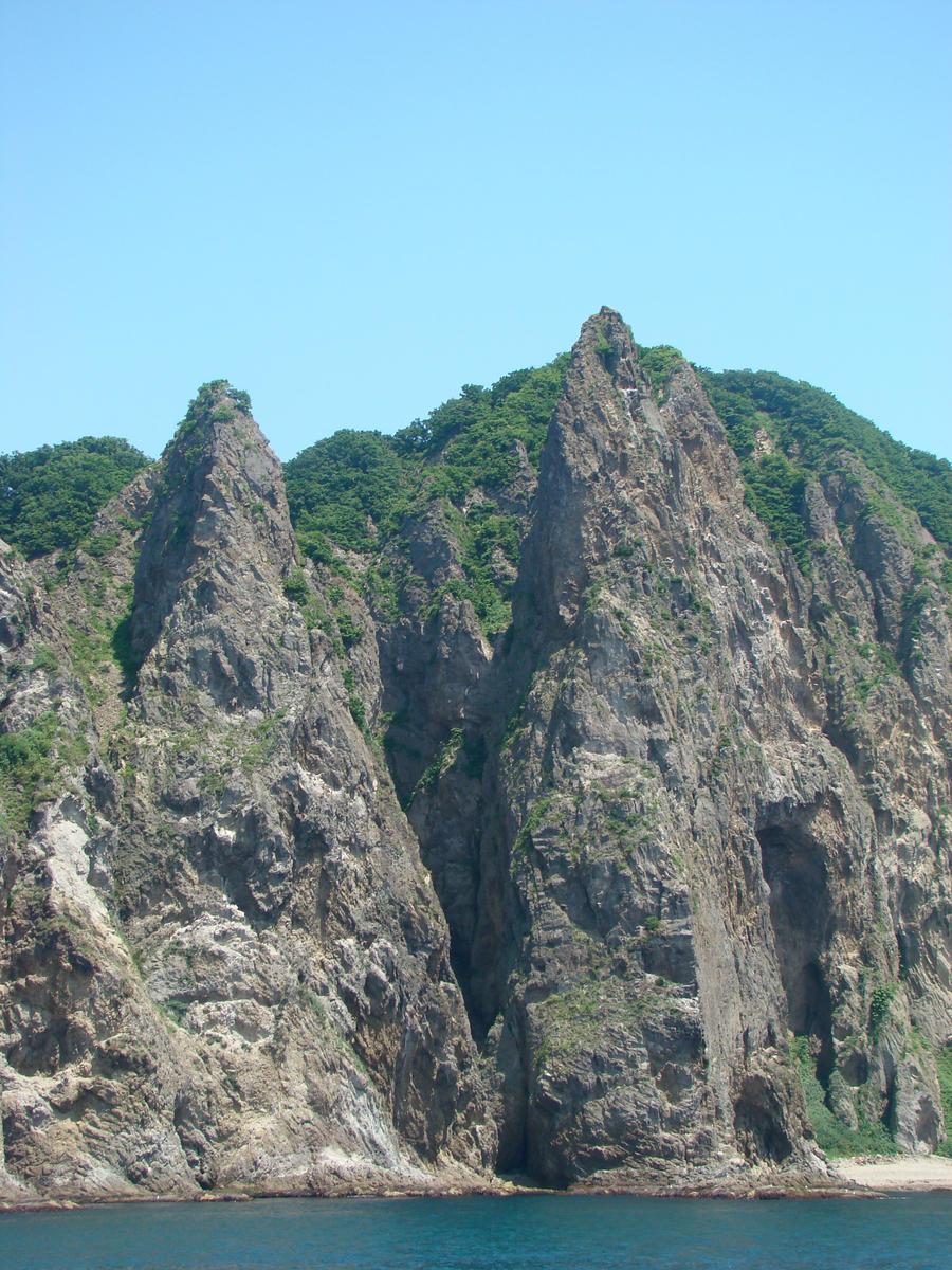 Muroran Japan  city photo : Muroran Cliffs 5 Towers by titaniummike on DeviantArt
