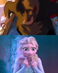 Elsa is Scared of Ratigan