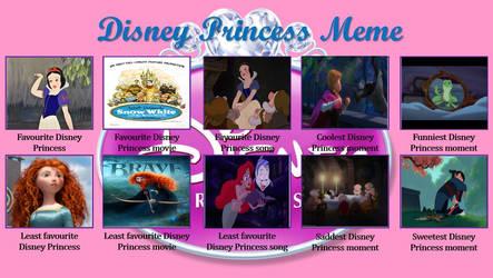 My Disney Princess Meme