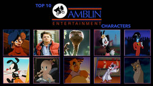 Top 10 Amblin Entertainment Characters